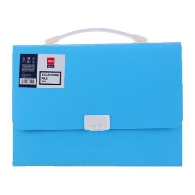 Папка-портфель A4 8 отделений, полипропилен 600мкм ассорти