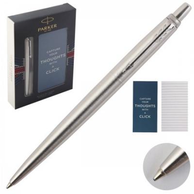 Подарочный набор шариковая ручка синяя + блокнот В7 Jotter арт. 2061287