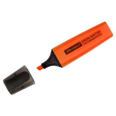 Текстовыделитель оранжевый 1-5мм