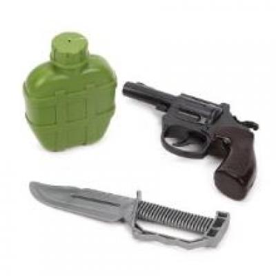 Игровой набор Военный, пакет