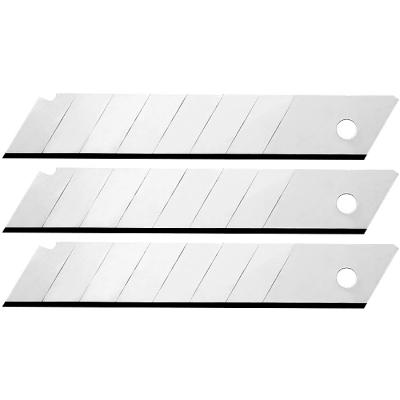 Лезвия для канцелярских ножей 18мм (упаковка 10шт) (цена за упаковку)