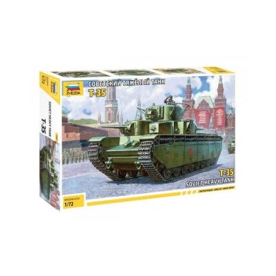 Модель для склеивания. СОВЕТСКИЙ ТЯЖЕЛЫЙ ТАНК Т-35