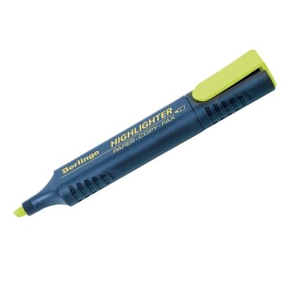 Текстовыделитель жёлтый 1-5мм