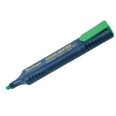 Текстовыделитель зелёный 1-5мм
