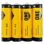 Батарейка солевая Smartbuy ONE R6/4S АА (спайка 4шт) (цена за спайку)