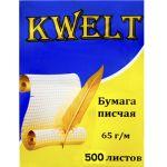 Бумага писчая А4 500л 65г/м