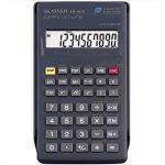 Калькулятор 10-разрядный ЕГЭ, 71*134*12мм, 56 функций, чёрный