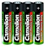 Батарейка Camelion солевая R3P/AAА мизинчиковая (спайка 4шт) (цена за спайку)