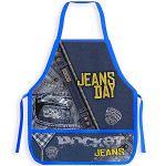 Фартук для труда Jeans day, печать на ткани