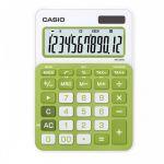 Калькулятор Casio (12 разрядов) 149*105*22мм зелёный
