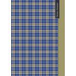 Бизнес-блокнот А4 64л. ШОТЛАНДСКАЯ КЛЕТКА (64-4723) 7БЦ, глянц. ламин. , цвет. мелов. обл.