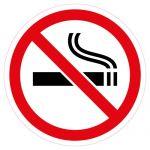 Наклейка Курение запрещено (106х106)