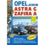 Opel Astra G/Opel Zafira A/Vauxhall Zafira/Subaru Traviq/Chevrolet Viva с1998-2006г чб. фото Бензин