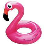 Круг для плавания надувной 90см Фламинго, индивидуальная упаковка, европодвес