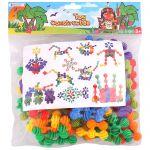 Конструктор детский пластиковый 80 деталей