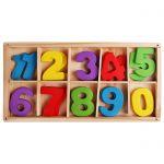 Набор счетных материалов (дерево) цифры (20 шт. )
