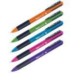 Ручка шариковая автоматическая 4цв 0, 7мм Multicolor, ассорти