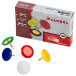 Кнопки 10мм 50шт виниловое покрытие, цветные