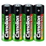Батарейка Camelion AA солевая (R6P-SR4 1. 5В) (спайка 4шт) (цена за спайку)