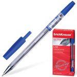 Ручка шариковая синяя 0, 6мм игольчатая ULTRA L-10