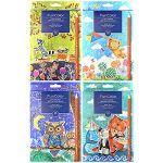 Карандаши 18цв Funcolor, трехгранные, пластиковые, картонная упаковка, европодвес, 4 вида
