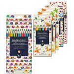 Карандаши 12цв Happycolor 6 видов, трехгранные, деревянные, картонная упаковка, европодвес