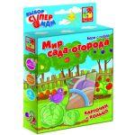 Фигурные карточки на кольце Мир сада-огорода