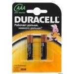 Батарейка Duracell Basic LR03 ААА (упаковка 2шт) (цена за упаковку)