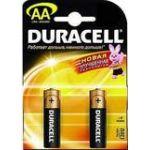 Батарейка Duracell Basic LR06 АА (упаковка 2шт) (цена за упаковку)