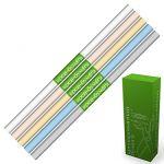 Бумага крепированная 50*250см 5цв 17гр Микс Пастельные, в дисплее (каждого цвета по 2 рулона)