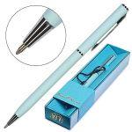 Ручка подарочная шариковая автоматическая синяя 0, 7мм Palermo, поворотный механизм, цвет корпуса- не