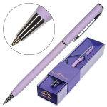 Ручка подарочная шариковая автоматическая синяя 0, 7мм Palermo, поворотный механизм, цвет корпуса- си