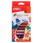 Пастель масляная 12цв Color Emotion шестигранные картон. коробка европодвес