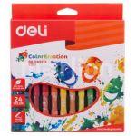 Пастель масляная 24цв Color Emotion шестигранные картон. коробка европодвес