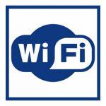Наклейка Wi-Fi (145х145) 9-81-0001