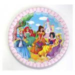 Тарелка бумажная В гостях у принцессы (17 см. , 6 шт. ) СП-1646