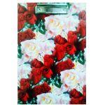Планшет с зажимом А4 ламинированный картон Дорожка из роз